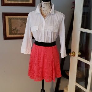 🌹2 for $12🌹Candies Lace Skaters Skirt Size M